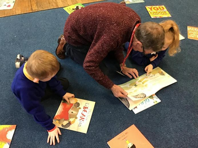 Sharing Books - Parent and Family Workshops