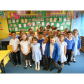 Red Class showing us their dazzling smiles!