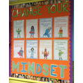 Look at some of our Growth Mindset displays.