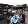 The street party is in full swing!