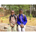 Divine (boy) and Beauty (girl) are now going to school for the next year!