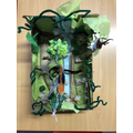 Lleyton, max and Ryan's rainforest in a box.