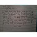 Tara's letter as Bess