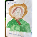 Beau's Painting of Mary Anning