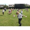 Flying kites (The International Kite Festival)