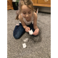 Learning origami with Marianna