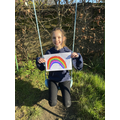Beautiful rainbows - well done Emily ...