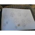 Sienna's maths work