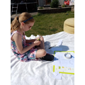 Making the most of learning in the sunshine.