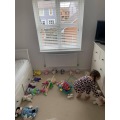 Daisy made a hospital for her teddies