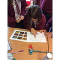 Using a key to classify amphibians...