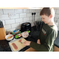 Learning to make homemade sausage rolls...