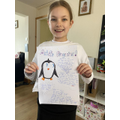 Emily's penguin research