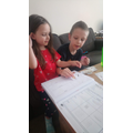 Callum and Abi working together