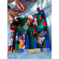 Beau's Lego and Playmobil Crimean hospital