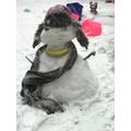 Freya's snowman