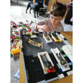 Archie made a lego hospital
