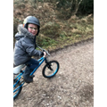 Out for a bike ride with Loui