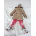 Snow Angel Lola!