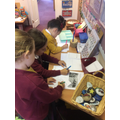 Making our own books in Author's Corner