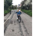 Sienna's bike ride