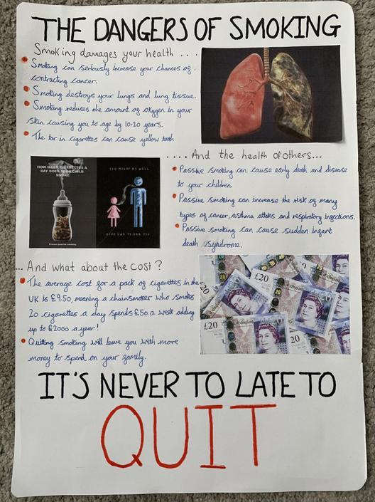 OB's Smoking Poster