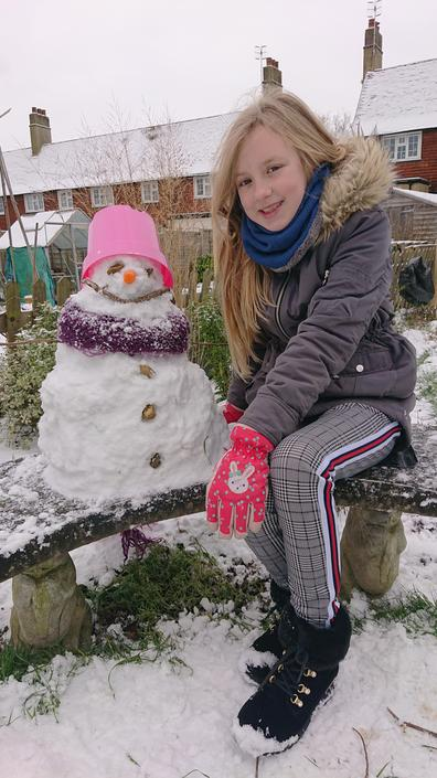 What should this snow lady be called?