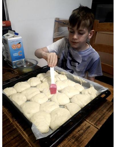 Alex (Year 4) - Using Maths to Bake