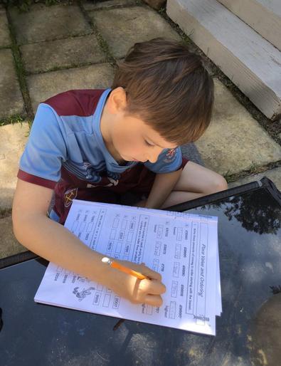 Jack (Year 4) - Maths