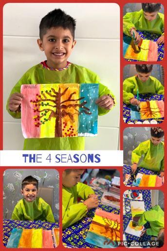 Rohjan's work on the four seasons
