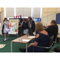 Year 6 enterprise - Dragons Den with the Govenors