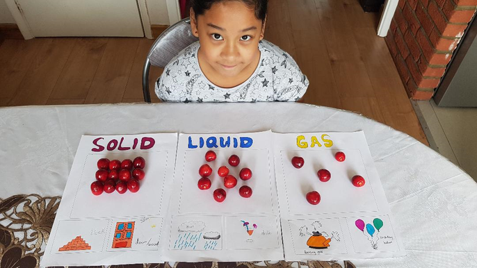 Kate (Year 3) Solids, liquids and gases