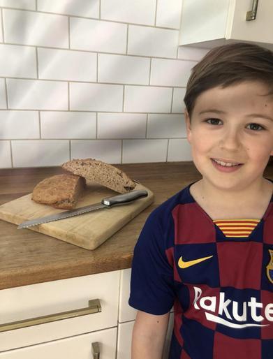 Jack (Year 4) - VE Day Bread Baking