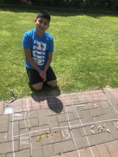 Paresh (Year 5) - Outdoor Maths