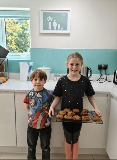 Alex (Year 2) & Lola (Year 5) - VE Baking