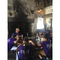 Lunch at the 3 Broomsticks