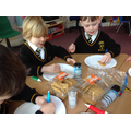 We decorated our own Gingerbread men