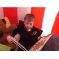 We love to read in Class 4!