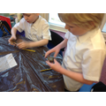 Making our own Terracotta Warriors