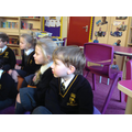 We have been listening to Julia Donaldson stories