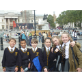 Year 6 at Trafalgar Square