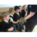 Knowsley Safari Park came to visit us