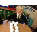 Using snowballs to double and halve!