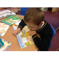 We love reading in Class 4!