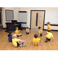 Circle games in PE