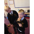 Making friends and having fun in our first week