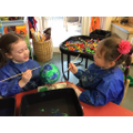 Creating Paper Mache Planets