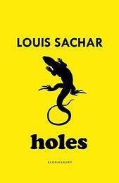 Our class read, Holes by Louis Sachar.