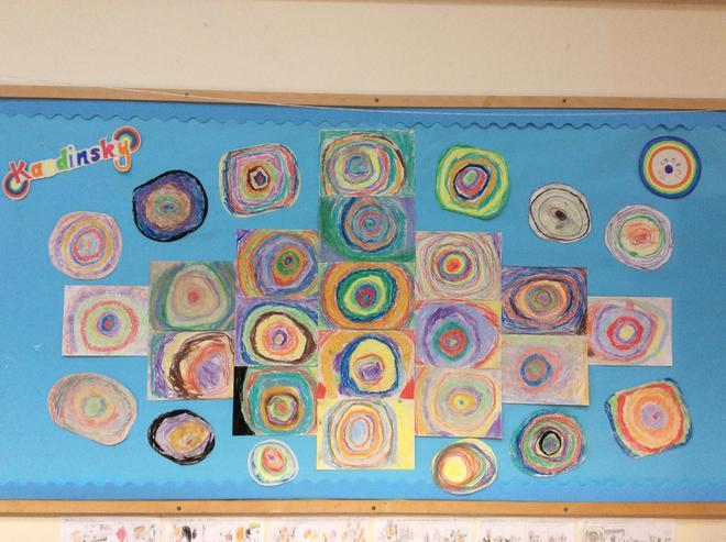 Kandinsky's Concentric Circles