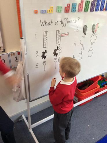 Recognising difference in maths